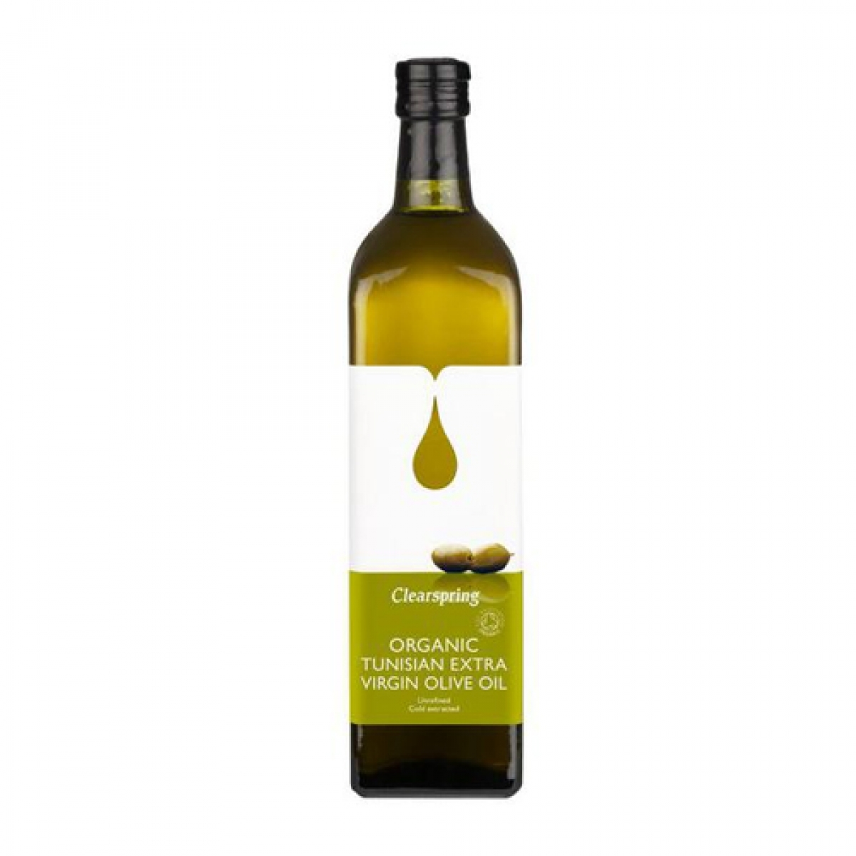 Clearspring – Organic Tunisian Extra Virgin Olive Oil (500ml)