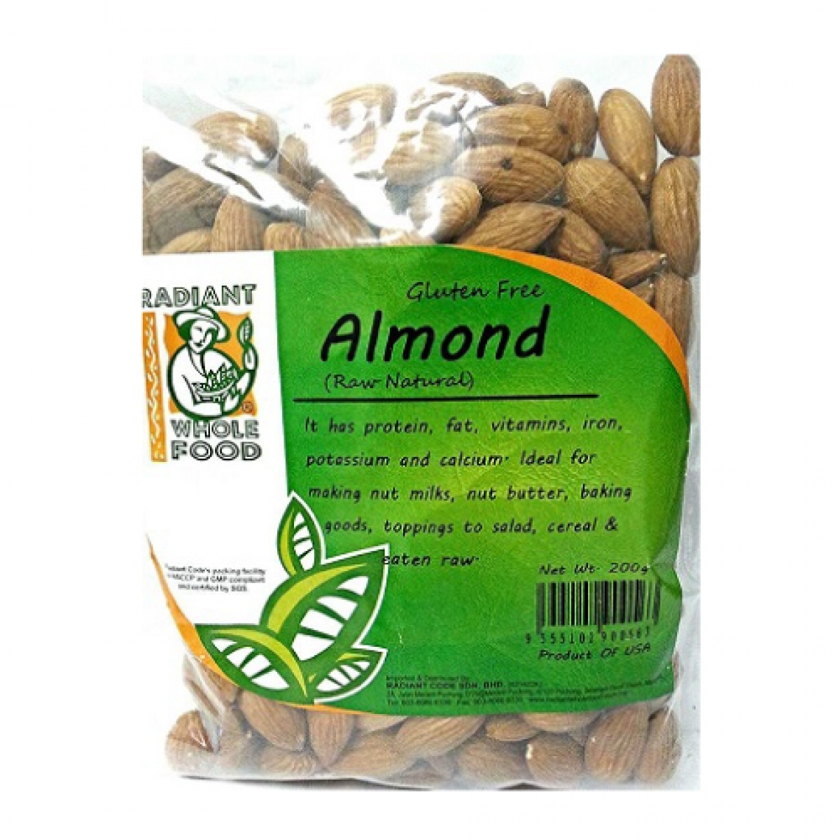 Radiant Natural Almond (200g)