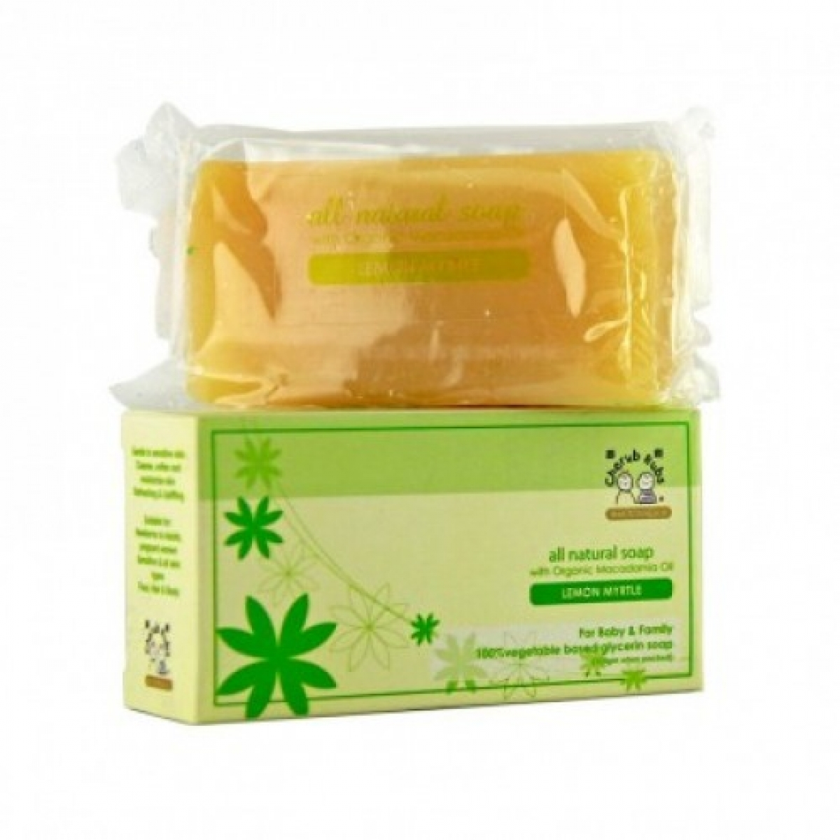 Cherub Rubs Lemon Myrtle Soap (100g)
