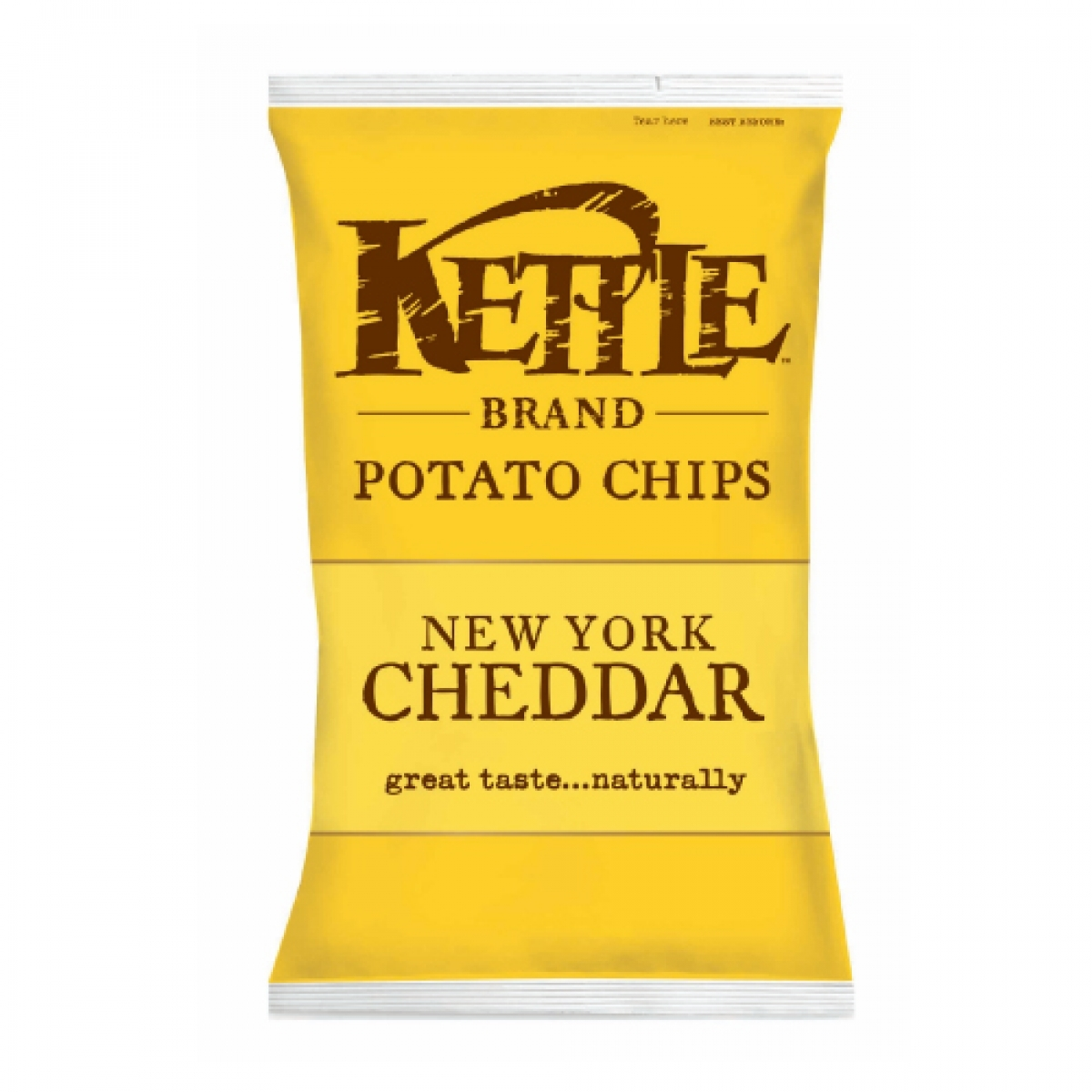 Kettle Brand All Natural Potato Chips – New York Cheddar (Regular 5oz)