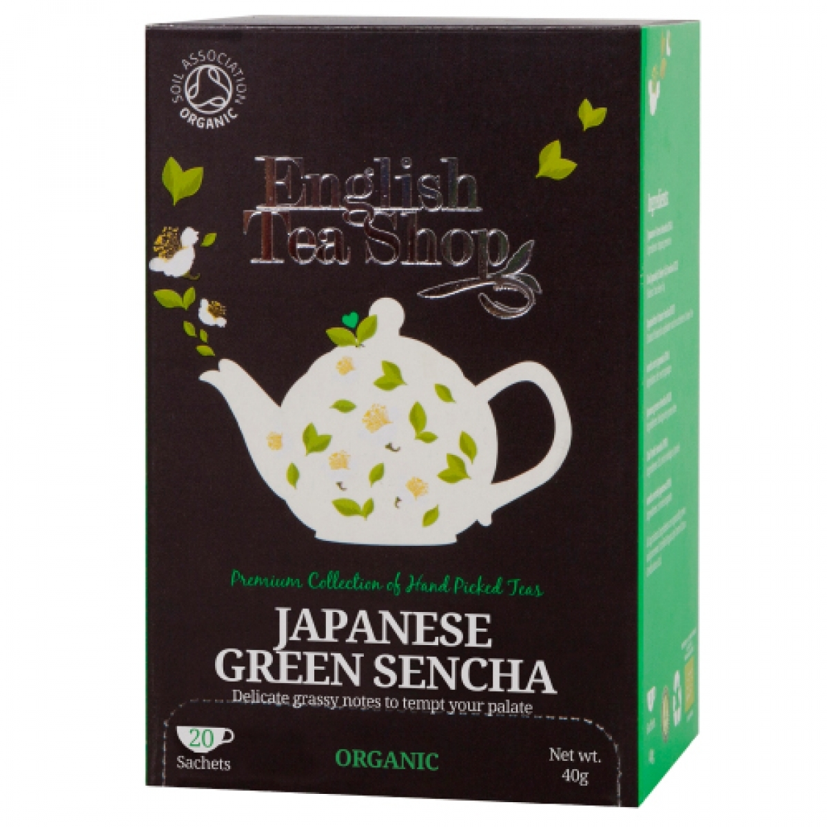 English Tea Shop Organic Tea  - Japanese Green Sencha (20 bags)