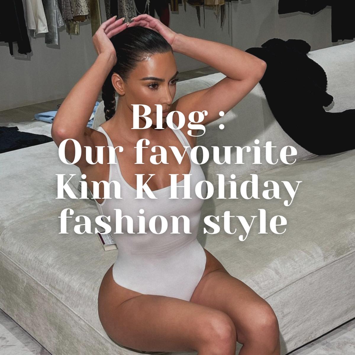 Our Favourite Kim Kardashian Holiday Fashion Style