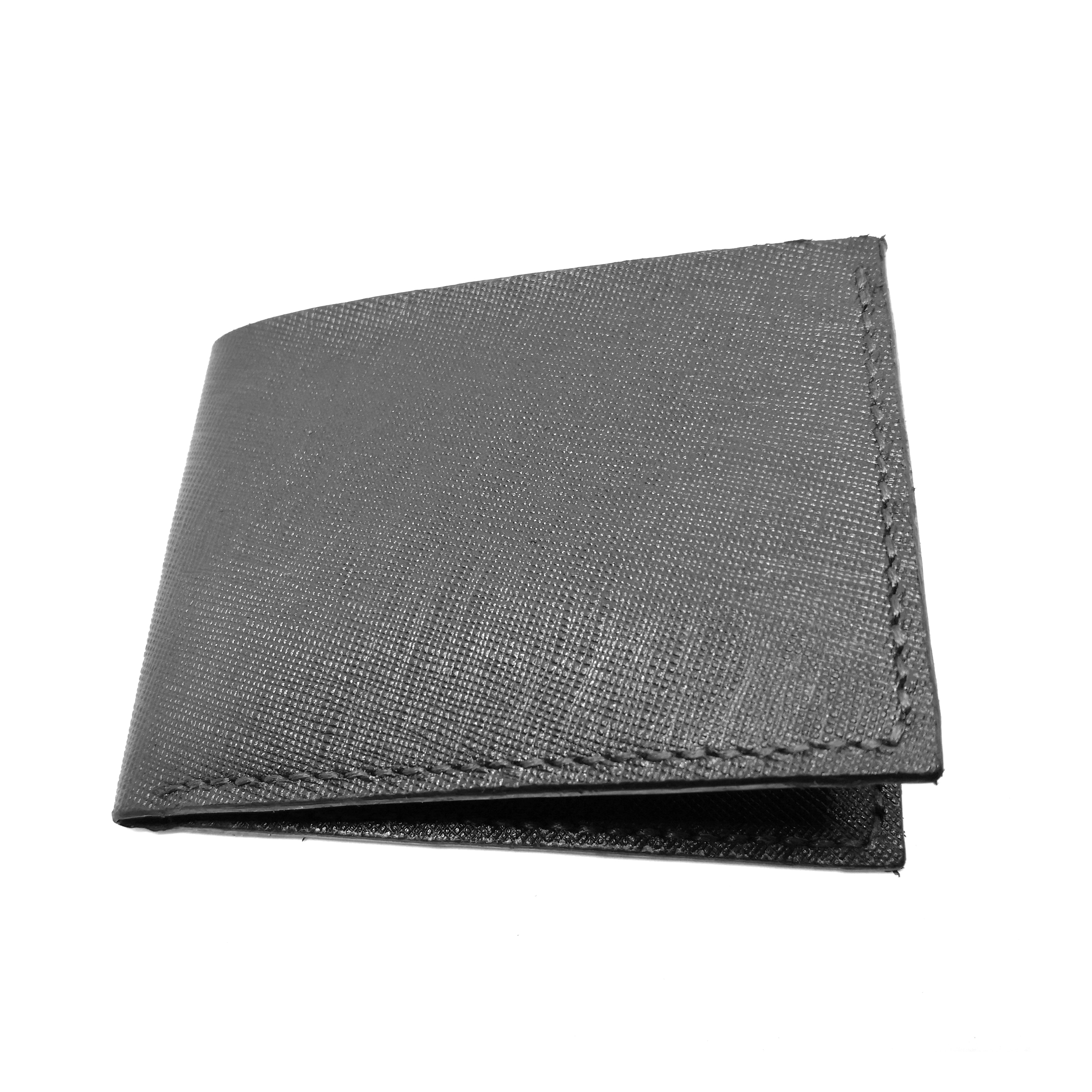 326f1edc0cdb Handmade Saffiano Leather Wallet (BLACK) – Ladies Room Fashion ...