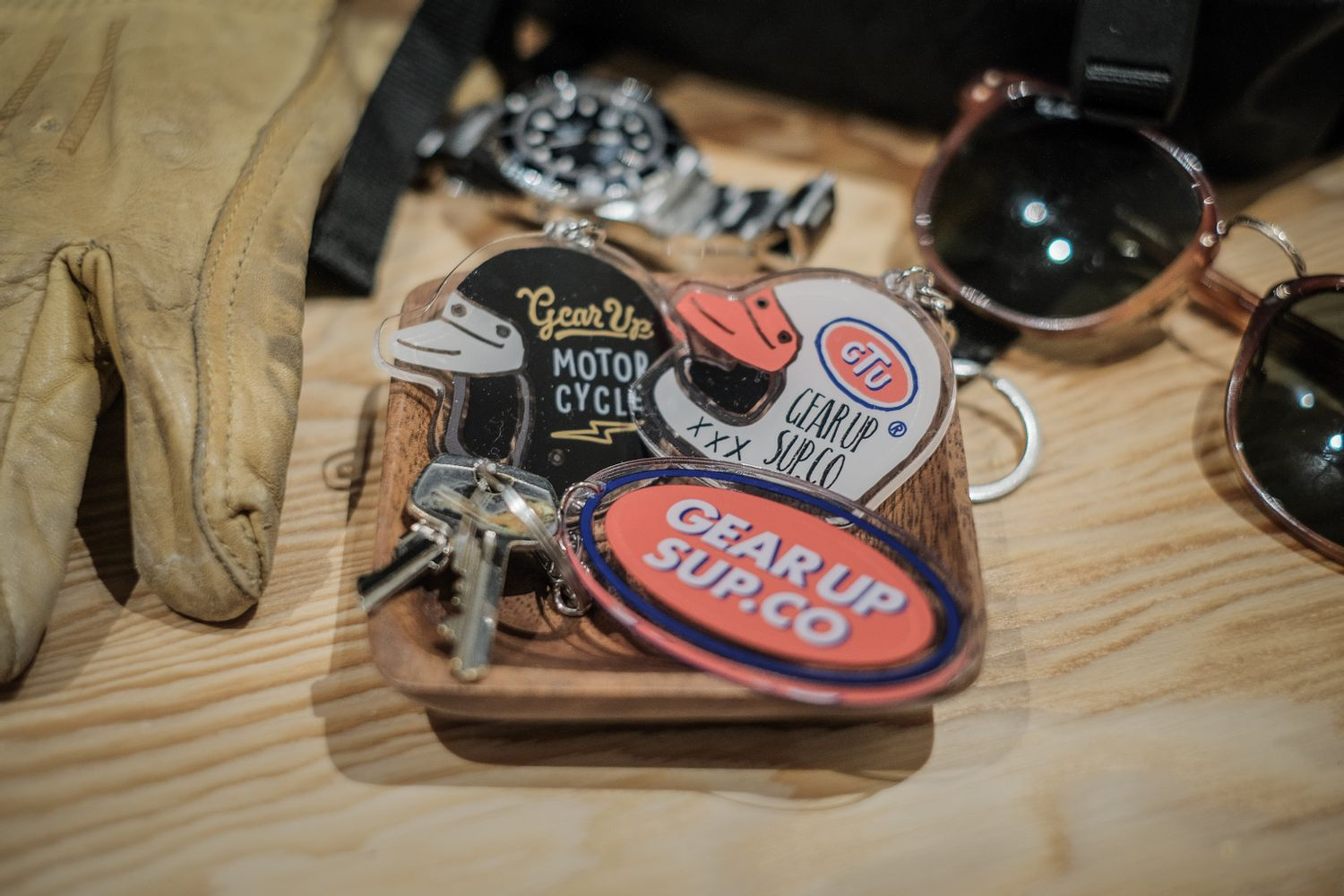 Gear Up motorcycle. | KEY CHAIN