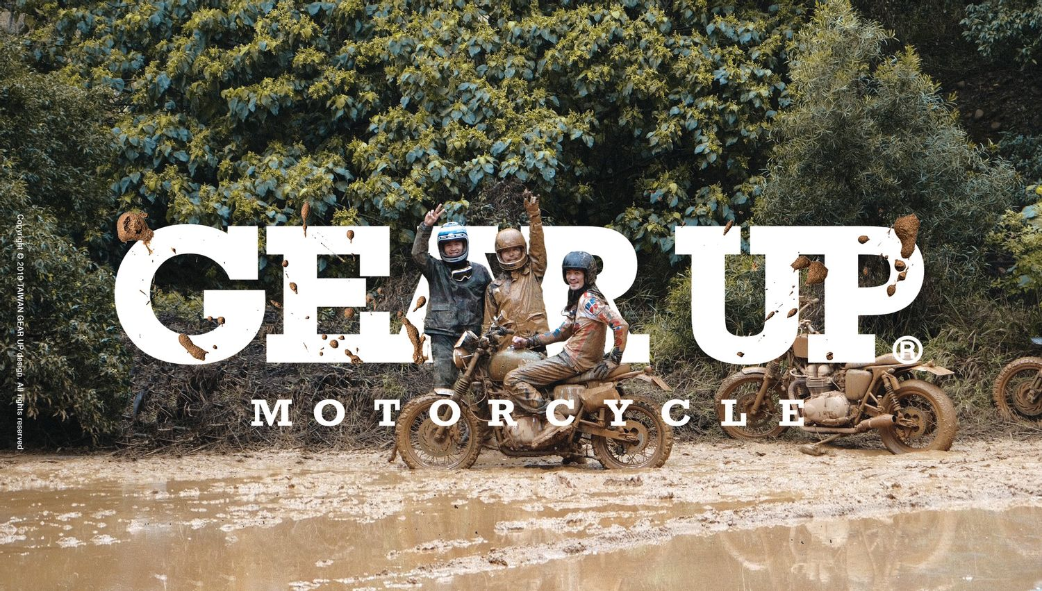Gear Up motorcycle. | PHYSICAL