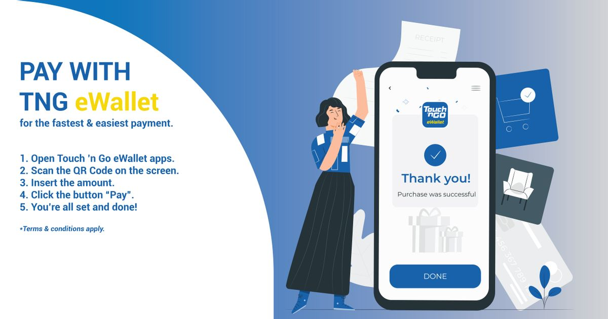 Pay with TNG eWallet