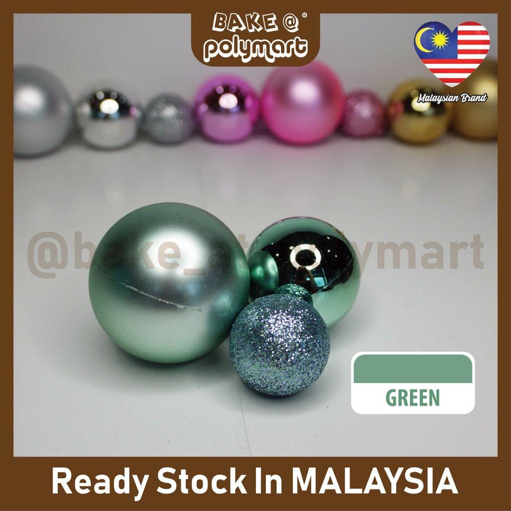 Christmas Ball 3Pcs- Green.jpg