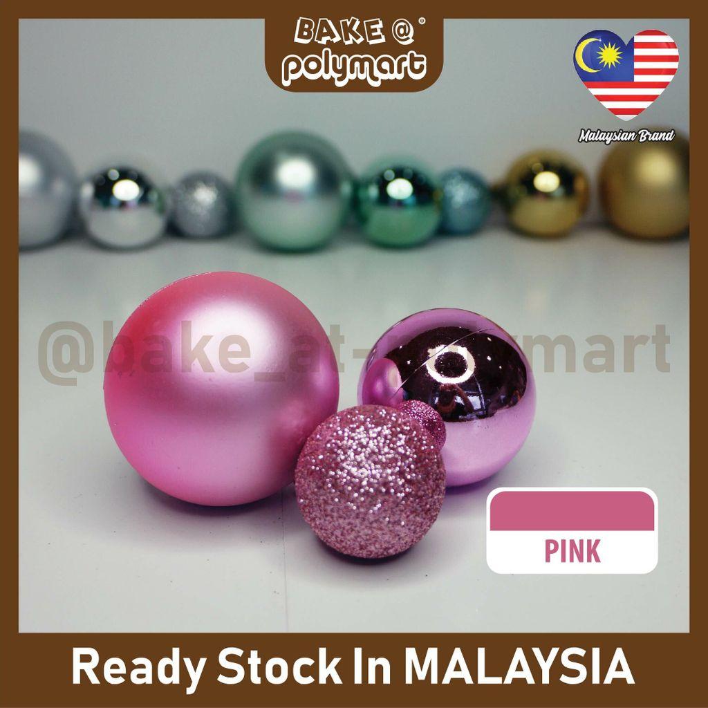 Christmas Ball 3Pcs- Pink.jpg