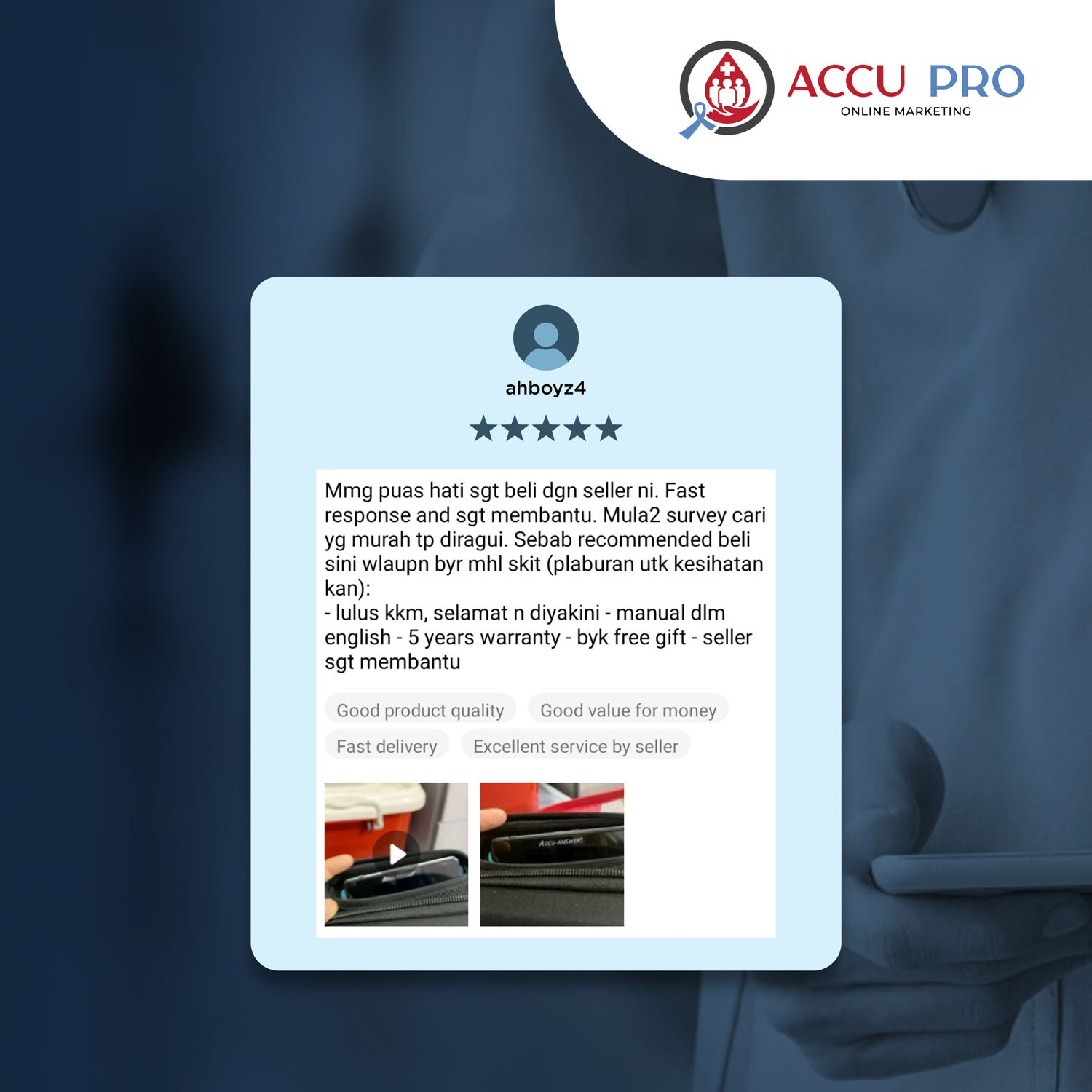 Accu Answer Official Store Malaysia - What they say about our product?