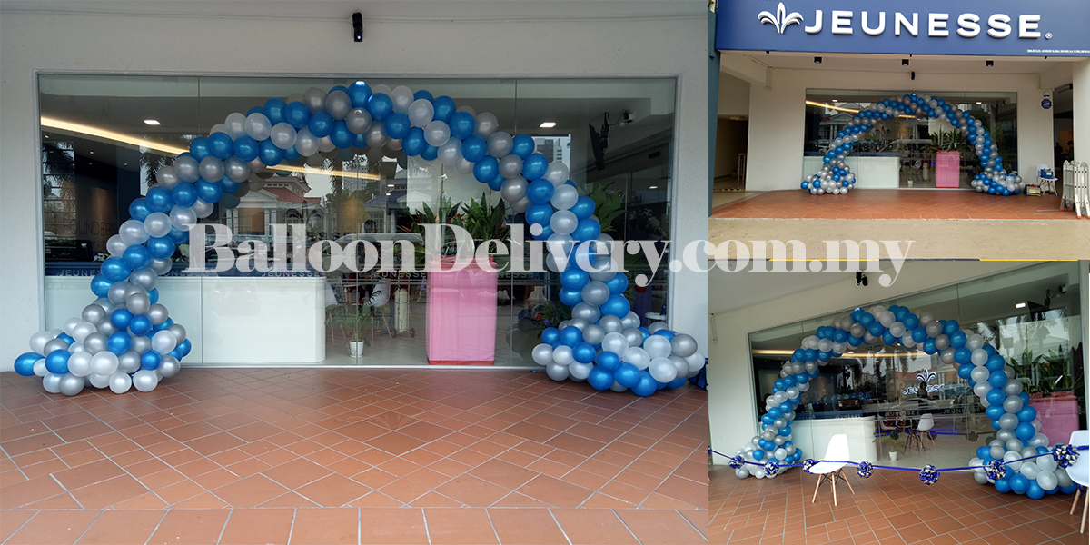 Cloud Balloon Arch for Jeunesse New Shop Opening