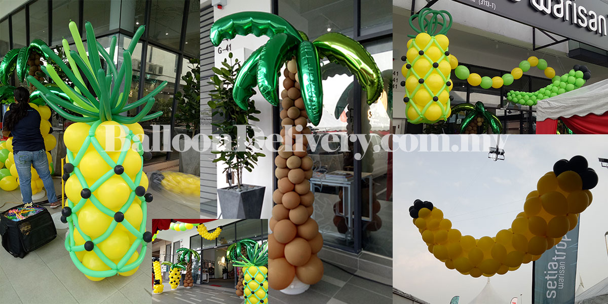 Fruit Sculpture for Sales Gallery Soft Launch
