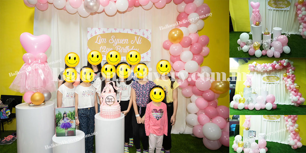 Balloon Decoration for Kids Birthday Party at Superpark