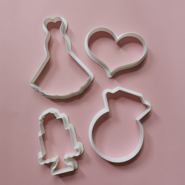 Cookies And Charms | What we Do - Cookie Cutters and Embossers