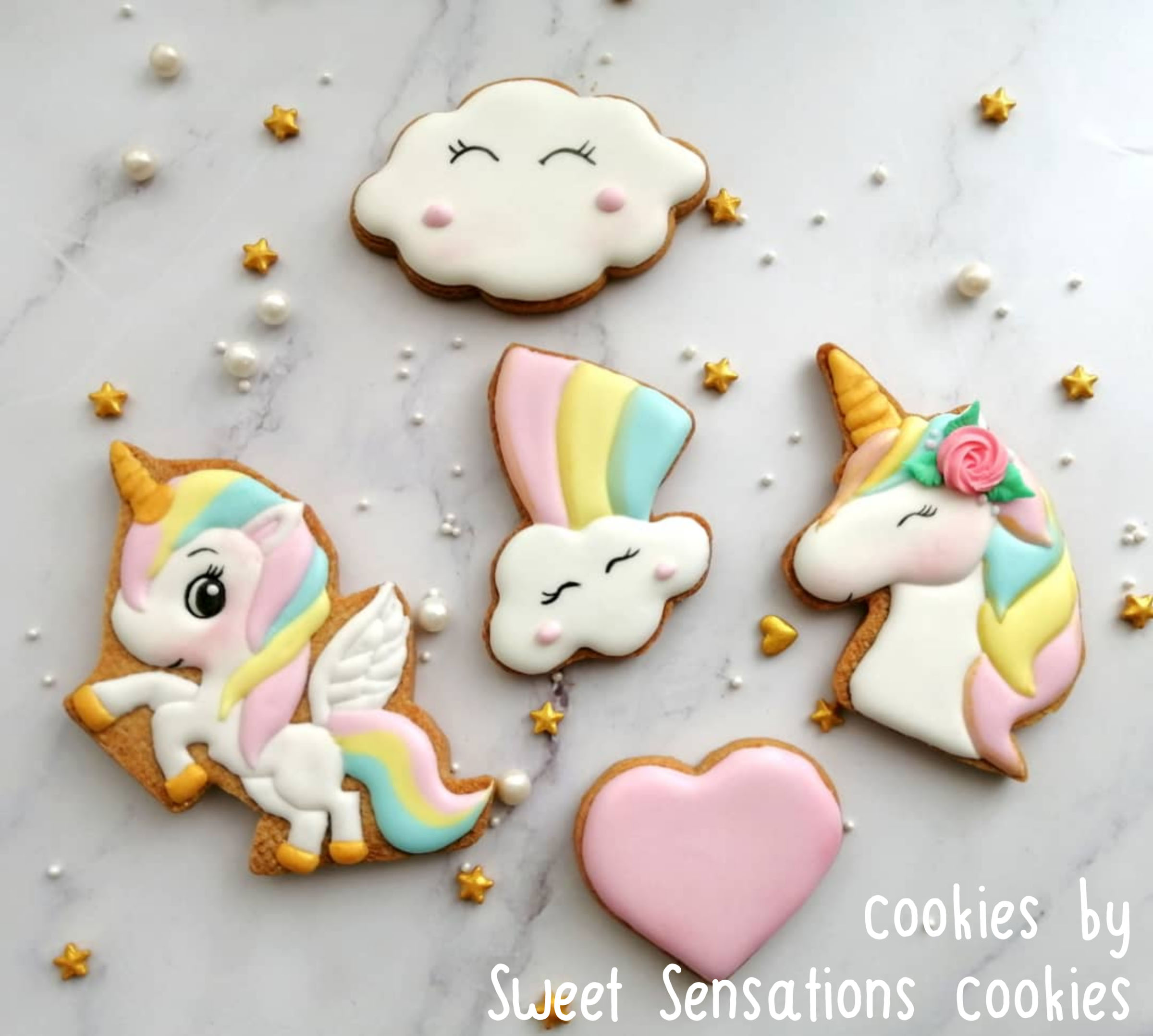Unicorns & Clouds Cutters and Embosser Set