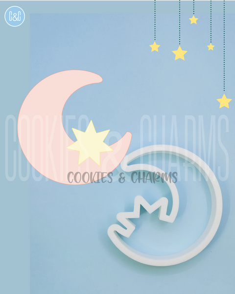 Star & Crescent Cutter from cookies and charms malaysia