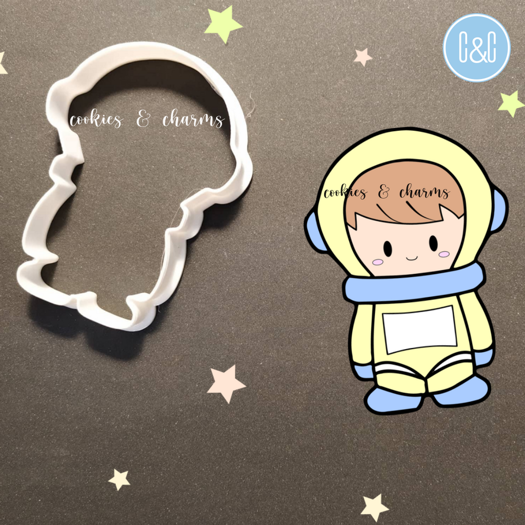 Cute Astronaut Cutter by Cookies and Charms to Perlis Malaysia