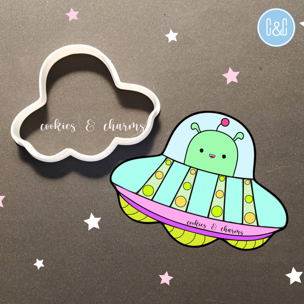 UFO Cutter by Cookies and Charms to Muar Johor