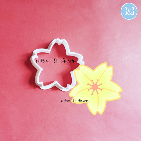 Cherry Blossom Flower Cutter by Cookies and Charms to Brunei