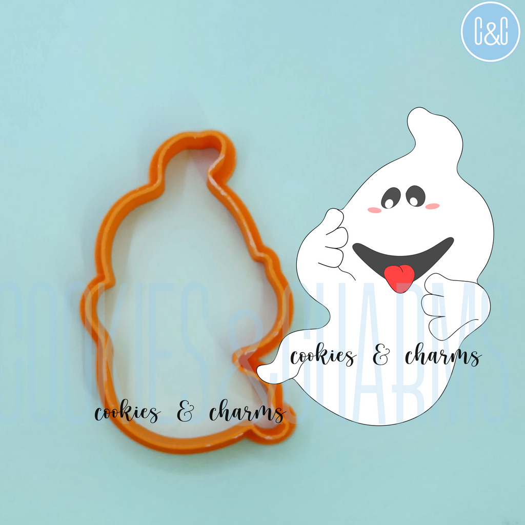 Ghost Cutter from Kuala Lumpur Cookies and Charms