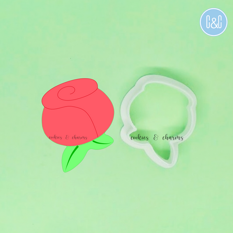 Rose Flower Cutter by cookies and charms singapore