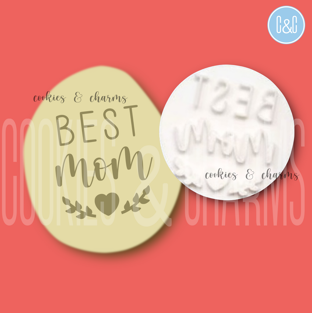 Best Mom Embosser by Cookies and Charms Malaysia
