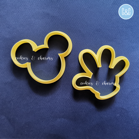 Pair with Mickey Glove Cutter to make a set!