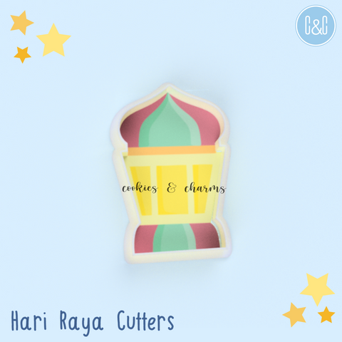 Ramadan Lantern Cutter comes with 3 different sizes.