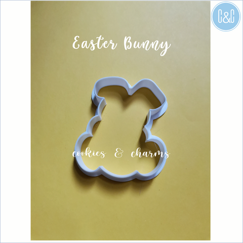 Easter bunny with Egg Cutter by Cookies and Charms