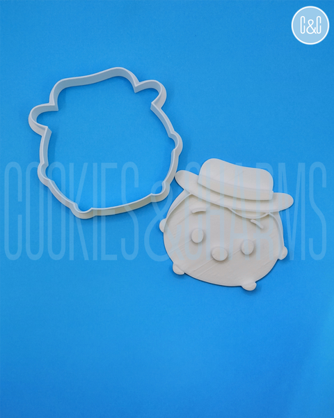woody Cookie Cutter and embosser