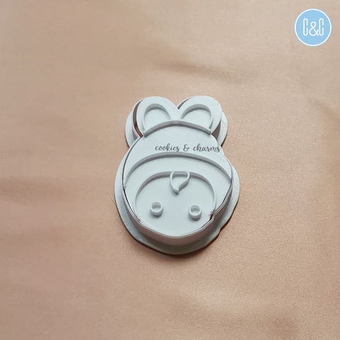 Chinese Baby Boy Cutter and Embosser by Cookies and Charms