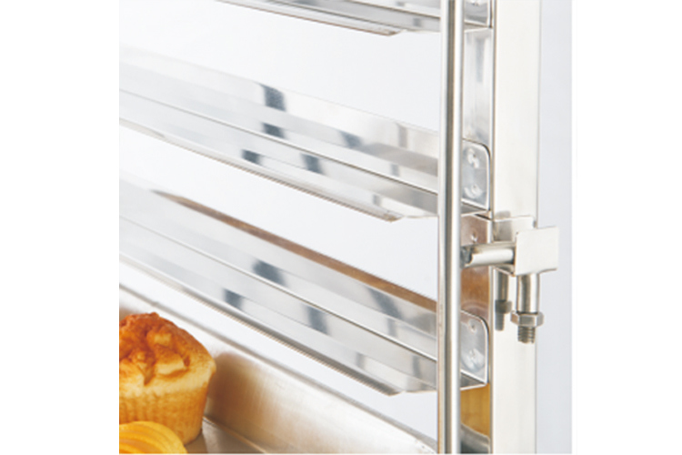 Latest Design Commercial Gn Gastronorm Pan Kitchen Storage Cooling Rack Stackable Trolley