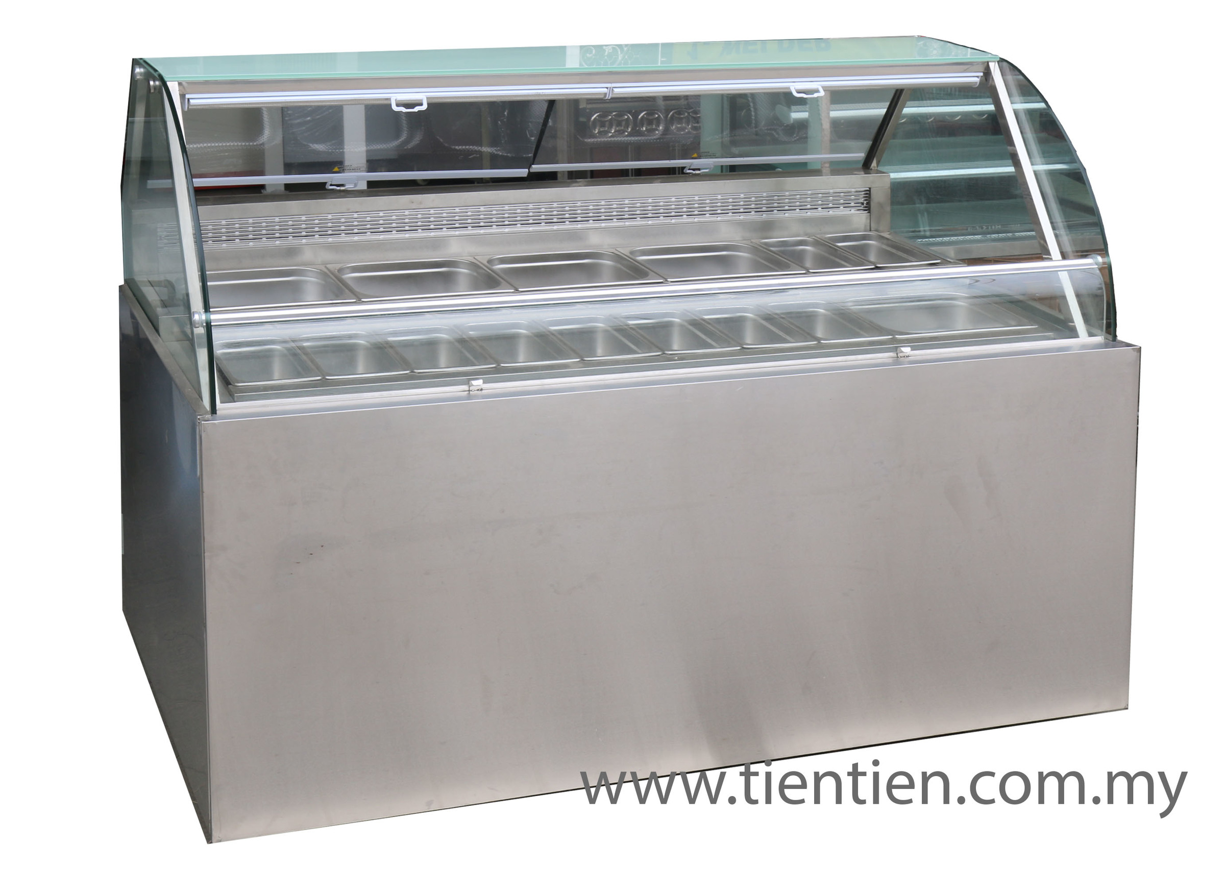 6FT SALAD COUNTER WITH NETTING COVER FILM TIEN TIEN MALAYSIA.jpg