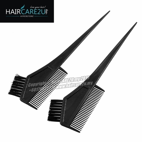 HAIRCARE2U Hair Dye Comb Coloring & Highlighting Tint Brush.jpg