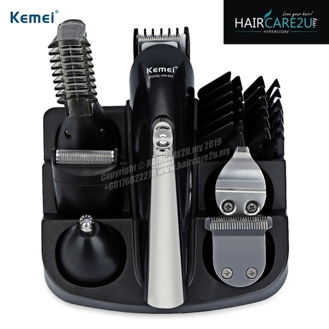 Kemei KM-600 All in One Super Grooming Kit Rechargeable Trimmer 2.jpg