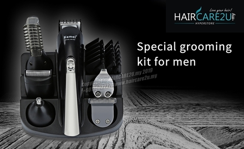 Kemei KM-600 All in One Super Grooming Kit Rechargeable Trimmer 11.jpg
