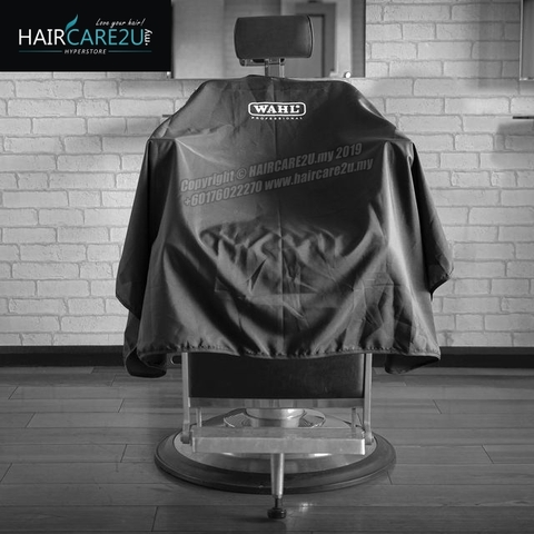 WAHL Black Polyester Professional Hair Cutting Cape.jpg