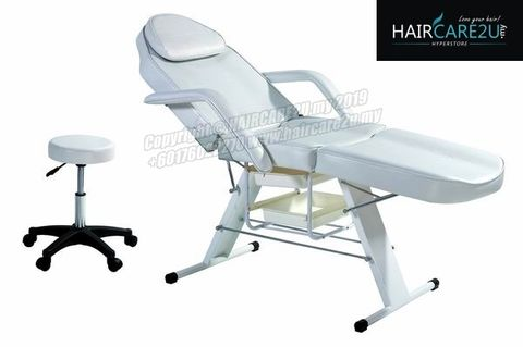 K-3558 Professional High Quality Beauty Facial Bed with Styling Stool.jpg
