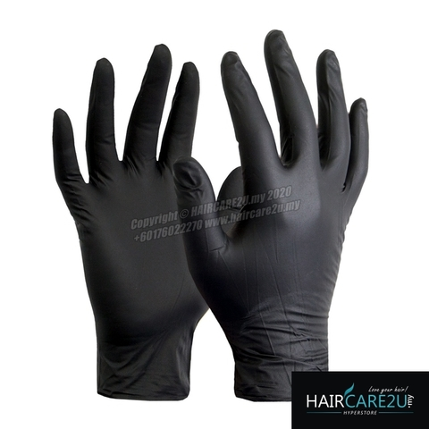 Feixiang Black Latex 1-Pair Hand Gloves.jpg