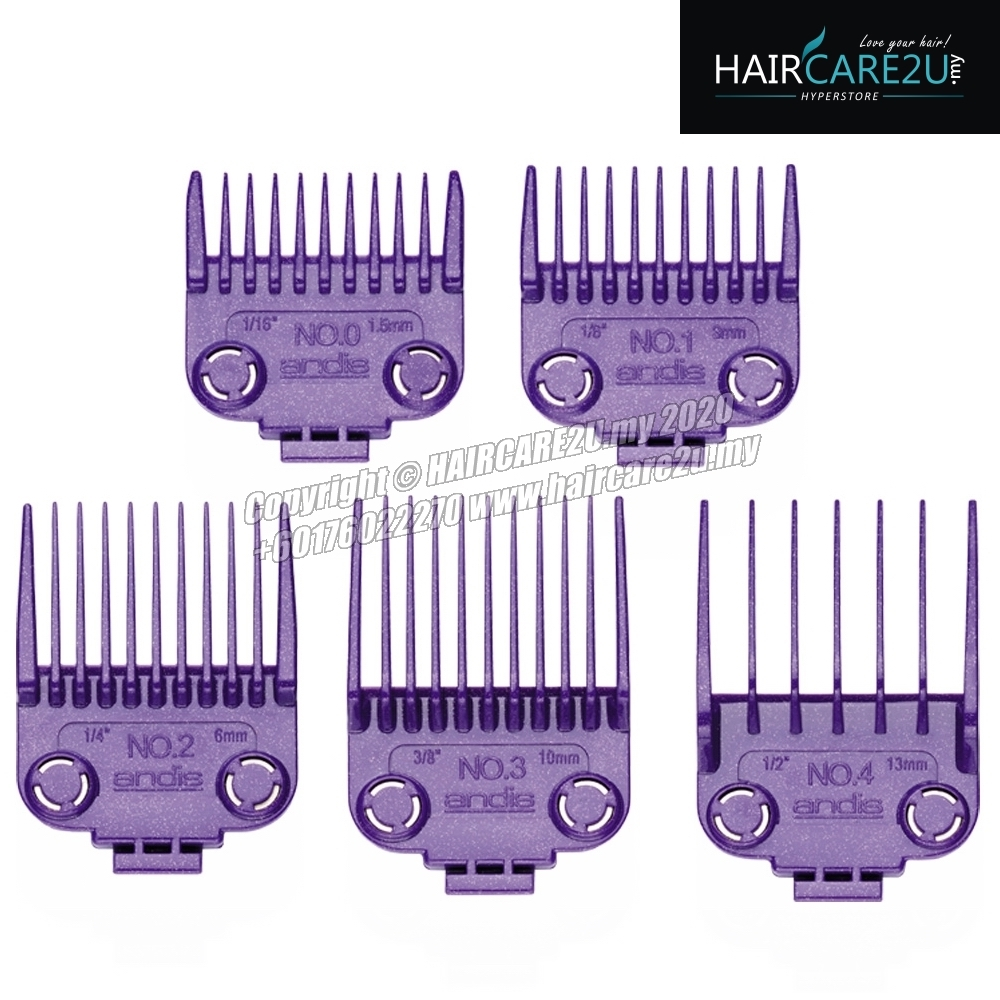 Andis Master Dual Magnet 5pcs Attachment Comb Set - Small #01410.jpg