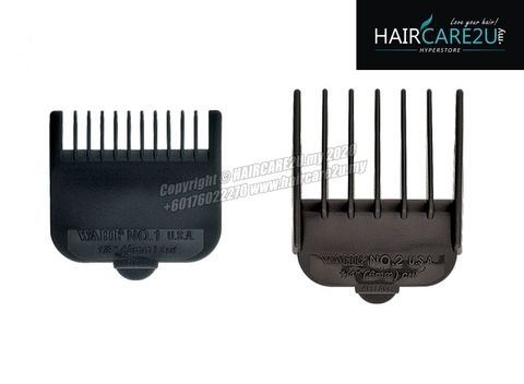 Wahl Plastic Attachment Cutting Guide Comb (#1 - 3mm & #2 - 6mm).jpg