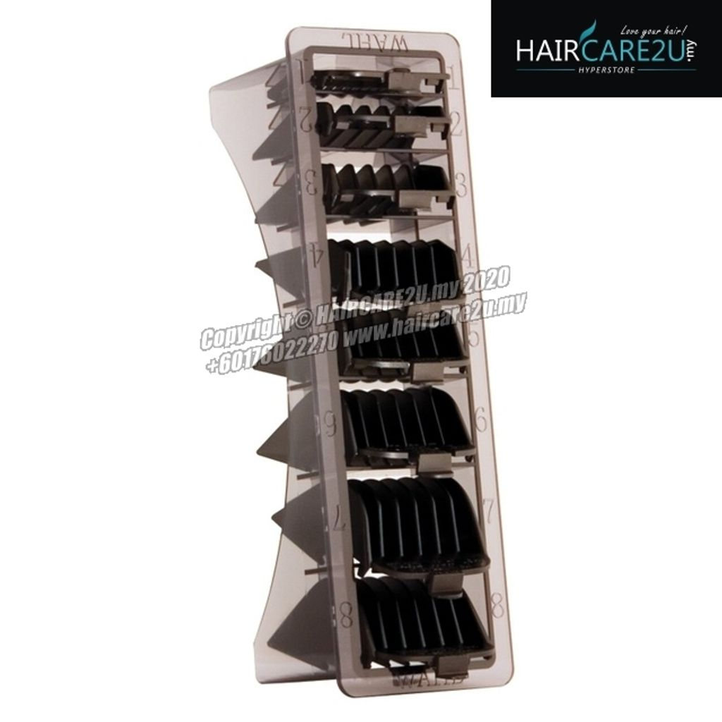 Wahl 8 Pack Attachment Cutting Guide Combs with Organiser Tray.jpg