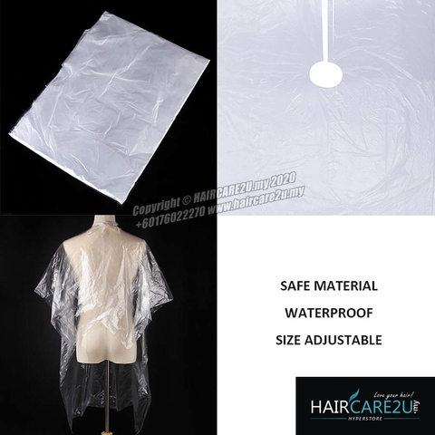 Barber Salon Disposable Hairdressing Apron Cutting Cape 5.jpg