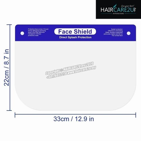 Disposable Barber Salon Safety Face Shield Transparent Full Face Protective Windproof Dustproof Mask 7.jpg