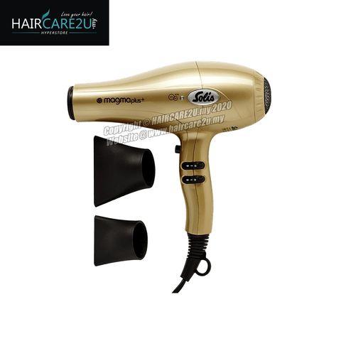 Solis Magma Plus Ion 2200 Watt Professional Hair Dryer (Gold) 5.jpg