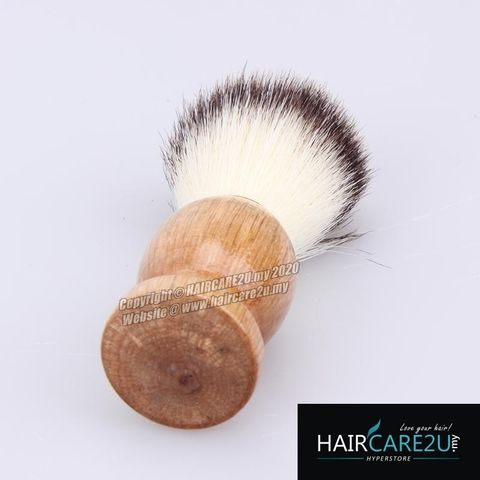 HAIRCARE2U 17-6A Barbershop Wooden Mustache Soft Neck Face Duster Brush 9.jpg
