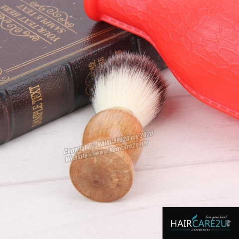 HAIRCARE2U 17-6A Barbershop Wooden Mustache Soft Neck Face Duster Brush 7.jpg