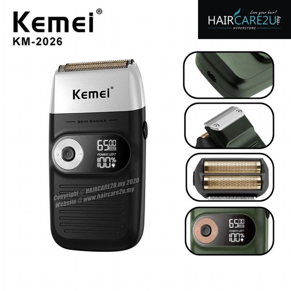 Kemei KM-2026 LCD Display Barber Electric Shaver.jpg