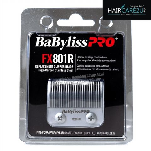 BaByliss Pro High-Carbon Stainless Steel Replacement Clipper Blade #FX801R.jpg