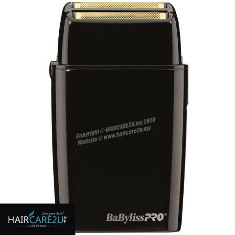 BaByliss Pro FOILFX02 Cordless Black Metal Double Foil Shaver #FXFS2B.jpg