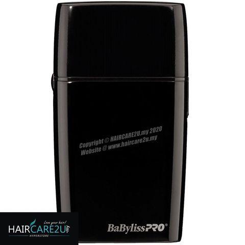 BaByliss Pro FOILFX02 Cordless Black Metal Double Foil Shaver #FXFS2B 4.jpg